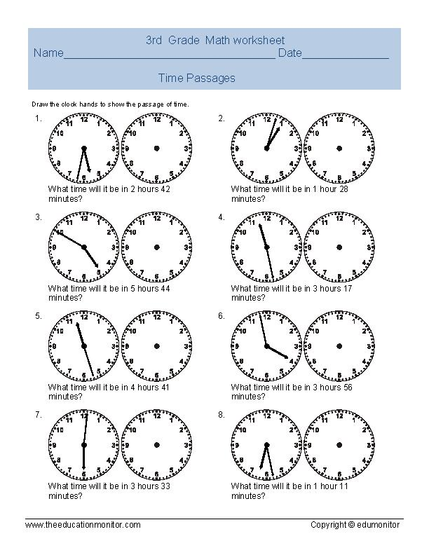 free printable telling time worksheets archives edumonitor. Black Bedroom Furniture Sets. Home Design Ideas