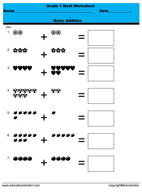 free printable rocket math worksheets Archives EduMonitor – Grade 1 Math Worksheets