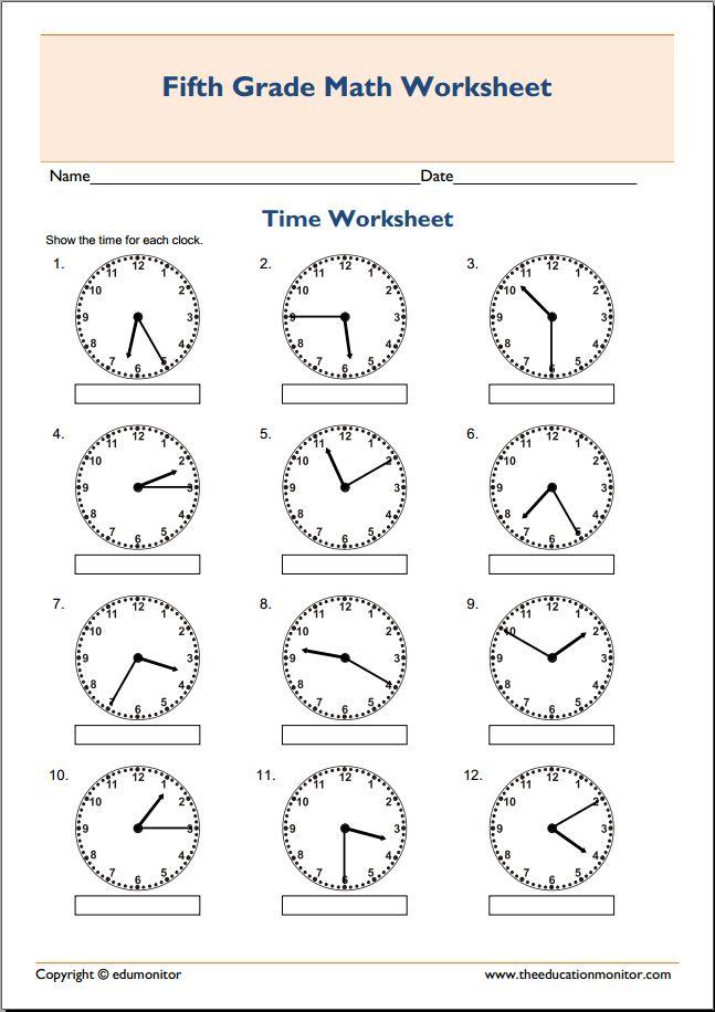 Math Worksheets For 5 Grade Scalien – 5th Grade Decimal Worksheets