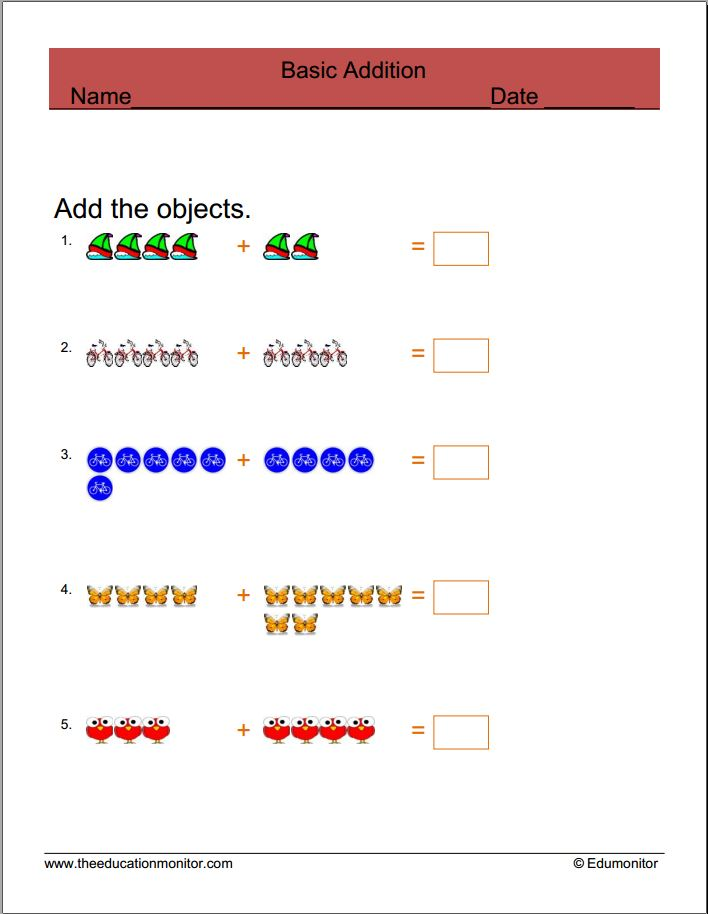 Free Math Worksheets, Problems and Practice
