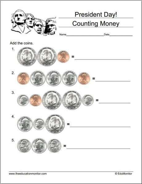 Free Presidents Day Worksheets and Puzzles