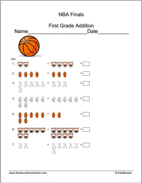 Printable learning materials for kids first grade