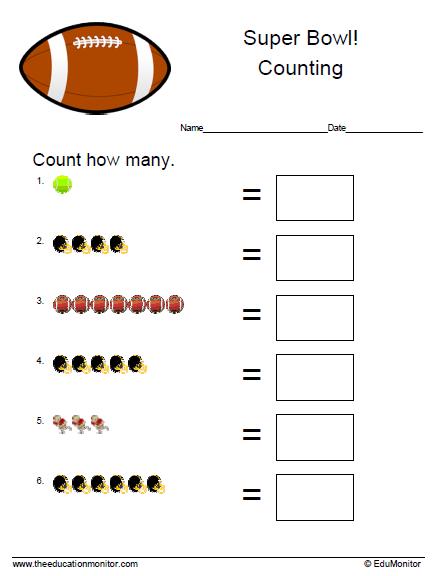 Math Worksheets | Kindergarten