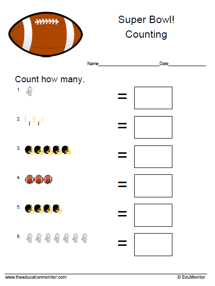 Free math worksheets| Preschool printables