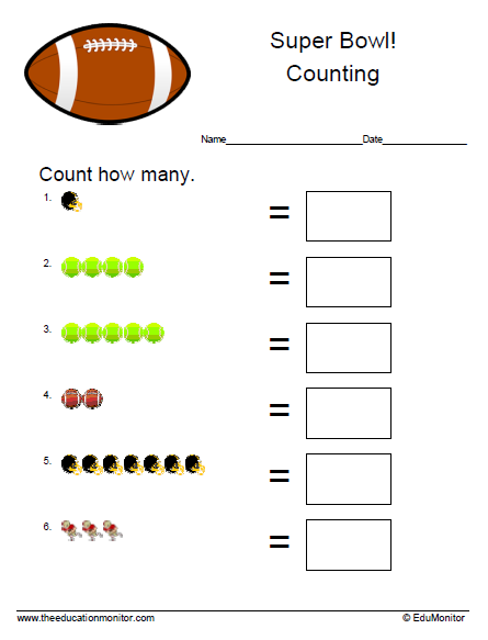 Free math worksheets | P-k through 5th grade
