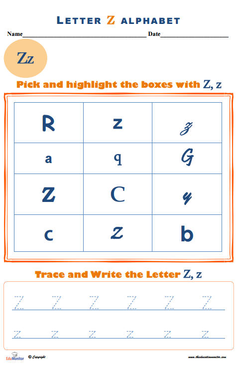 Tracing Alphabet Letters Worksheets