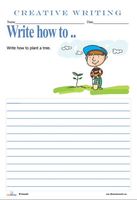 writing activities for elementary students