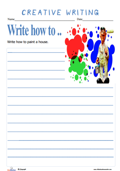 Writing story Prompts for Elementary Kids