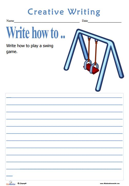 writing worksheets for elementary students