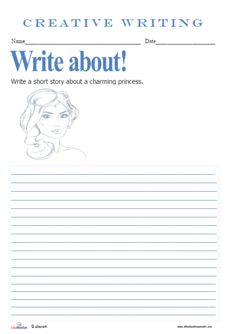 Short Story Writing Starters Worksheets