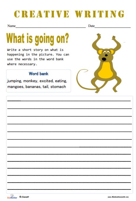 Short Story Topics Worksheets