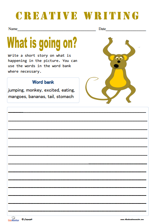 Short Story Topics Worksheets
