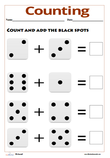 Free Counting Worksheets