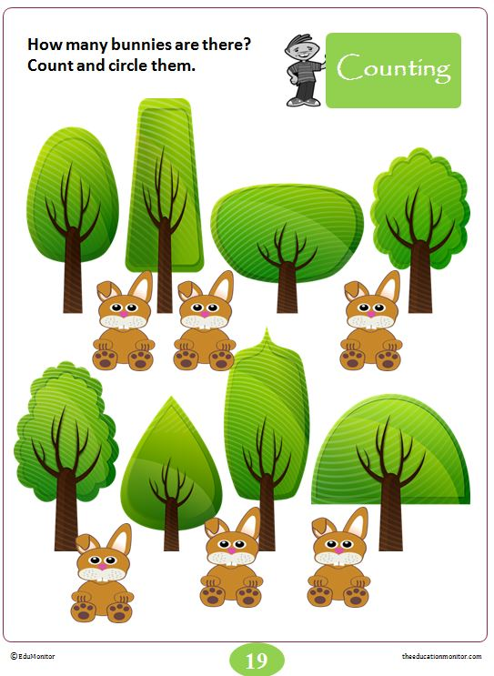 Number Worksheets & Printables for Kindergarten