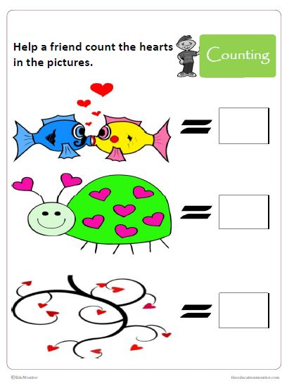 Preschool Math Number Activities Printables