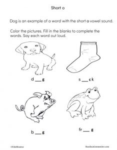 Long a vowel sound I Phonics worksheets