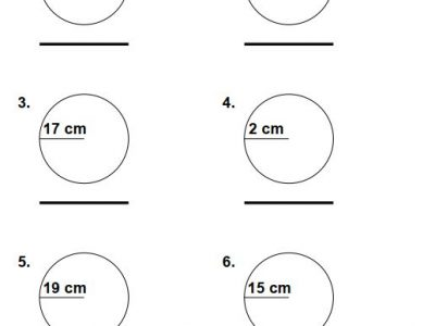 Grade 4 circumference worksheets