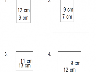 4th Grade Perimeter of Basic Shapes are a perfect resource for your 4th grader's practice. Find more awesome resources for your child in our online library.