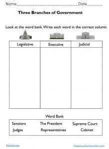 Social Studies_ three branches of government