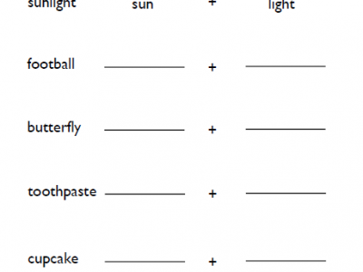 3rd Grade Compound Words Worksheets