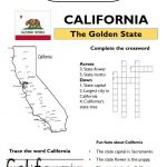 California worksheets social studies