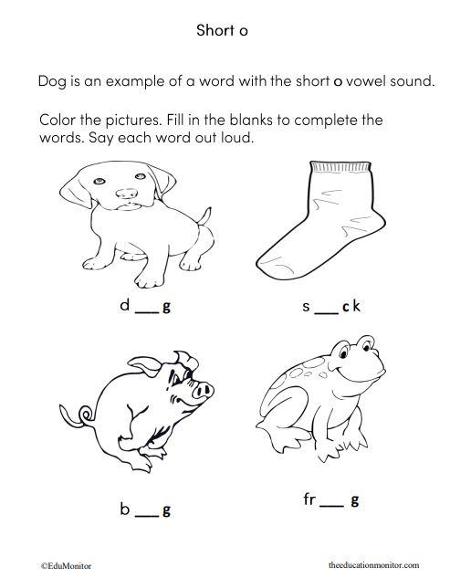 Long A Vowel I Phonics Worksheets The Edumonitor