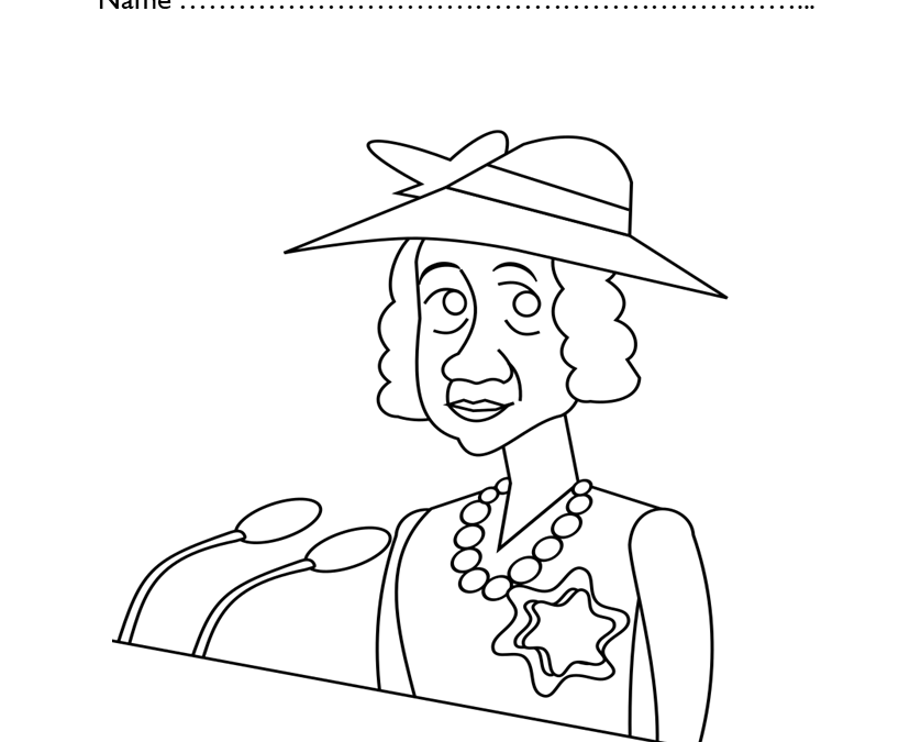 Kindergarten Black History Coloring Pages