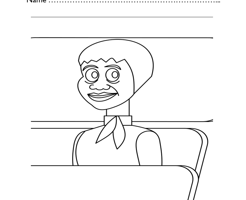 Free Black History Coloring Pages Printable