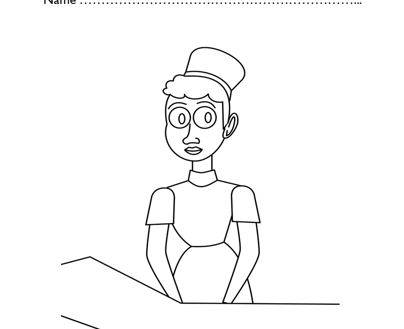 Kindergarten Black History Coloring Pages Activity