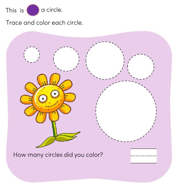 Shapes Preschool Worksheets & Free Printables
