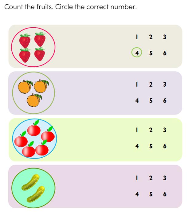 Preschool Math Counting Printables