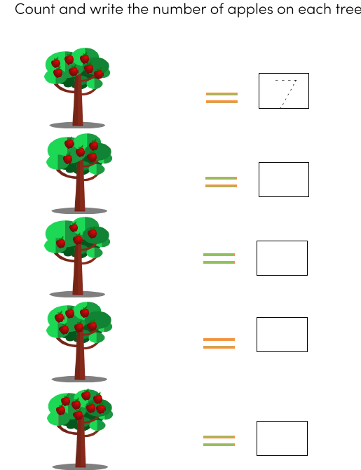 Preschool Math Worksheets pdf