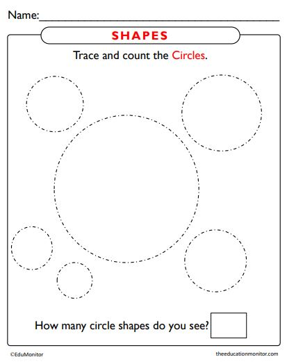 Shapes Worksheets Preschool